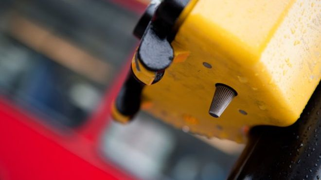 The magic button on pelican crossings