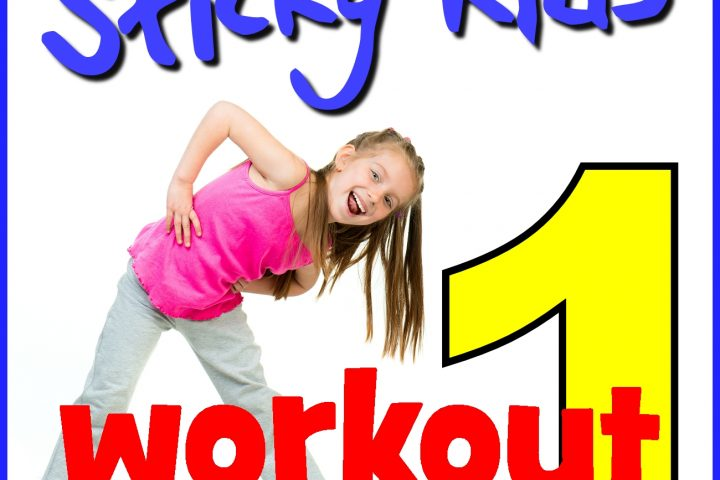 sticky kids work out 1